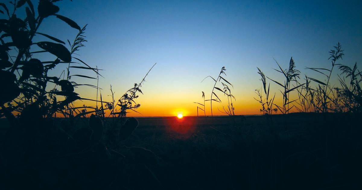 hvornår går solen ned